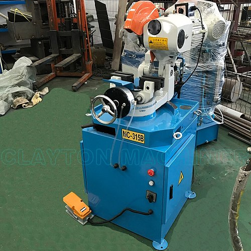 cutting pipe tube machine MC315B metal cutting machine stainless steel square pipe tube cutter