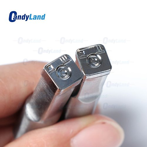 CandyLand 3D Tablet Die Camera Logo Pill Press Mold Candy Punching Die Custom Logo Calcium Tablet Punch Die For TDP 0 Machine