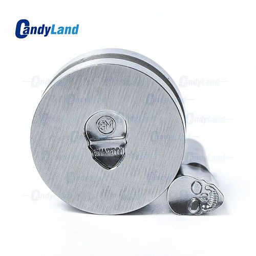 CandyLand Tablet Die Powder Pill Press Die Candy Punch Die Set Skull MB Custom Logo Punch Die Cast Pill Press For Tablet Machine