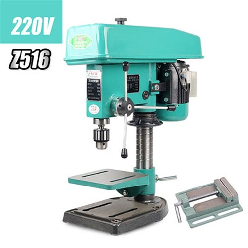 220V/750W Industrial Grade Bench Drill Z516 Household Bench Drill Small Motor Parts High Power Drilling And Milling Machine