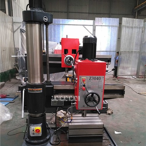 Z3040*13 Machine Tools Radial Drilling Machine Reinforced Drilling Machine , Casting 40mm/Steel 35mm 220V/380V 2.2KW 1300-360mm