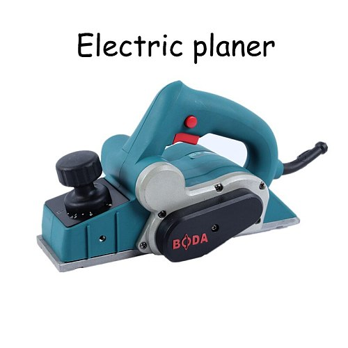 Electric Woodworking Planer Household Carpentry Small Wooden Hand Planes Wood Machine Woodworking Planning Machine