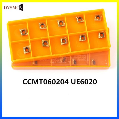 CCMT060204 UE6020 carbide inserts internal turning tool CCMT face 060204 Mill tools CNC lathe cutting tool