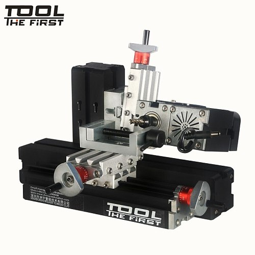 Thefirsttool Zhouyu TZ20005MM Big Power 60W Mini Metal Horizontal Milling Machine 12000r/min Kids  DIY Education Best Gift