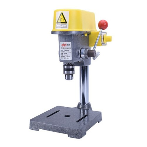 220V Electric Mini Bench Drill Small Vertical Drilling Machine Efficient High Power Home Woodworking Drilling Equipment 450W