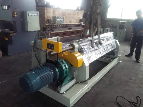 2500*8mm electric metal sheet slip roll machine rolling machinery tools