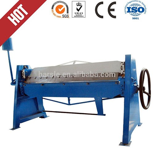 WS-1.5X1300 manual bending machine , sheet bender machine manual , aluminum folding machine