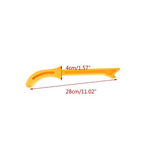 Yellow Woodworking Pusher Safety Push Stick for Carpentry Working Blade Router for tools