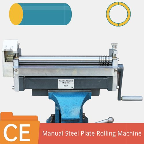 Hand Operated Sheet Metal Shearing Machine Metal Sheet Bending Guillotine