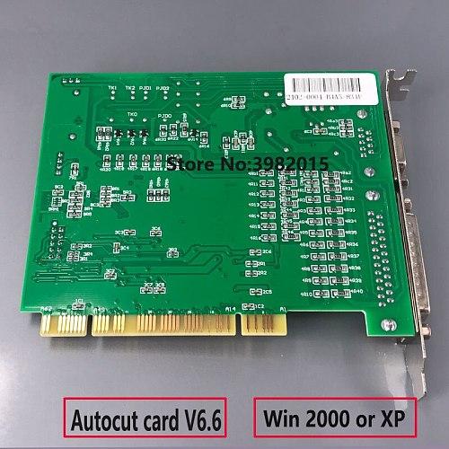 Original AUTOCUT Card V6.6 Program Control System Based on Windows 7/XP for CNC EDM Machine