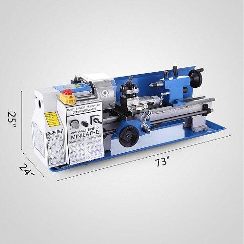 Mini Metal Lathe 550W 7x14 inch Machine With Mini Lathe Tools Package EU/Russia No Customs Fees