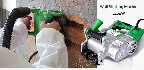 1100W 35mm Wall Grooving Machine Wall Groove Cutting Machine Handheld Brick Cutting Machine Practical Line Slot Machine FL0932