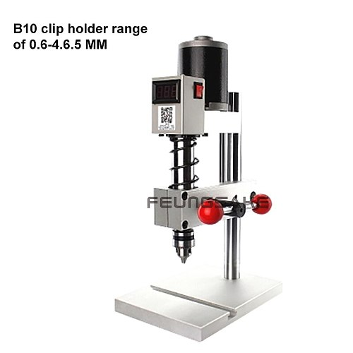 B12 milling machine with JT0 chuck Mini Drill Press Bench B10 Drill Machine with workbench drilling Work Bench speed adjustable