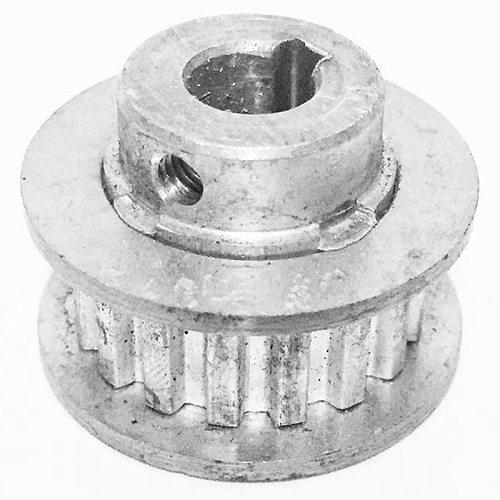 2Pcs Metal Synchronous Pulley Gear Motor Belt Gear Drive Wheel Gear S/N Cj0618 Mini Lathe Gears , Metal Cutting Machine Gears
