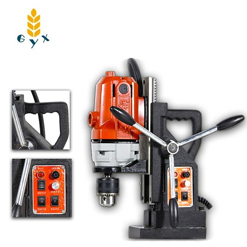 Multifunctional magnetic seat drill, hollow drill, hole drill, forward and reverse stepless / gear speed adjustment