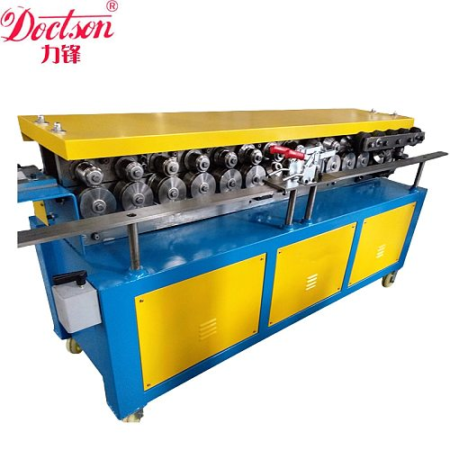 Double linkage TDF flange making machine,Duplex TDF Flange Forming Machine,Square flange molding machine