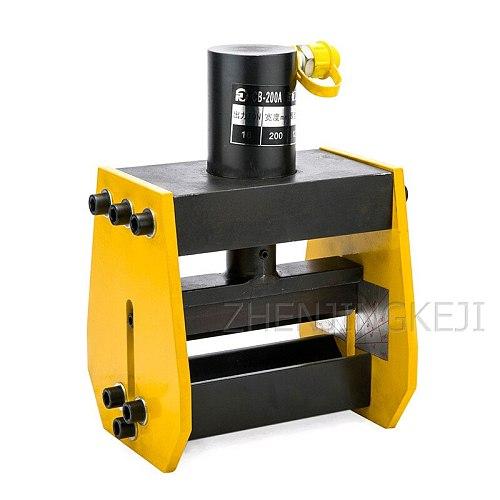 Split Hydraulic Copper Row Aluminum Row Iron Bending Machine Bending Tools Bus Processing Machine Pipe Bender Machining Equipmen