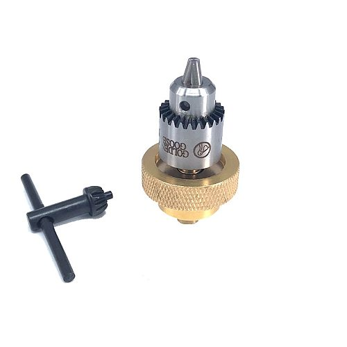 WEDM Golden Goose Drill Chuck With copper Connector for EDM Drilling Machine Tools