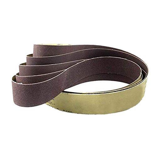 Promotion--10Pcs 50x1220Mm Abrasive Polishing Sanding Belts 60 Grit Grinder Grinding Belt