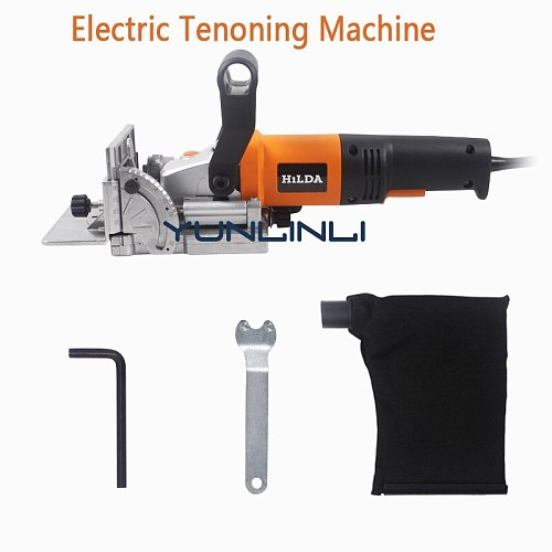 Woodworking Slotting Machine Electric Tenoning Machine Wood Biscuit Joiner Multifunctional Wood Slot Machine