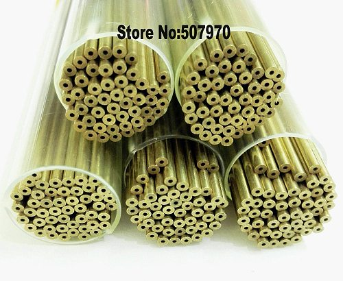 Ziyang Brass Electrode Tube Single One Hole 2.0*400mm Length for EDM Drilling Machine