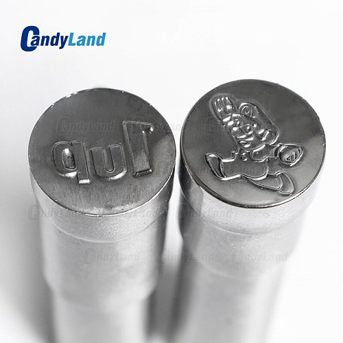 CandyLand Mario Milk Tablet Die 3D Punch Press Mold Candy Punching Die Custom Logo Calcium Tablet Punch Die For TDP5 Machine