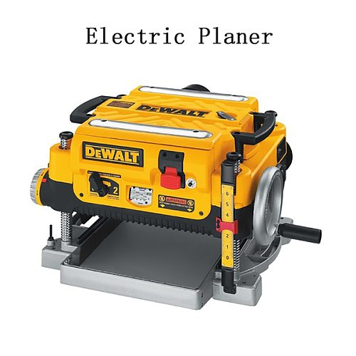 220V Woodworking Table Planing Plate Planer DW735  Multi-function Small Electric Planer