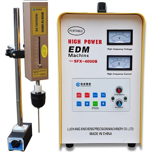 SFX-4000B Mini Portable EDM Machine/Damaged Bolt Remover/Broken Tap Extractor