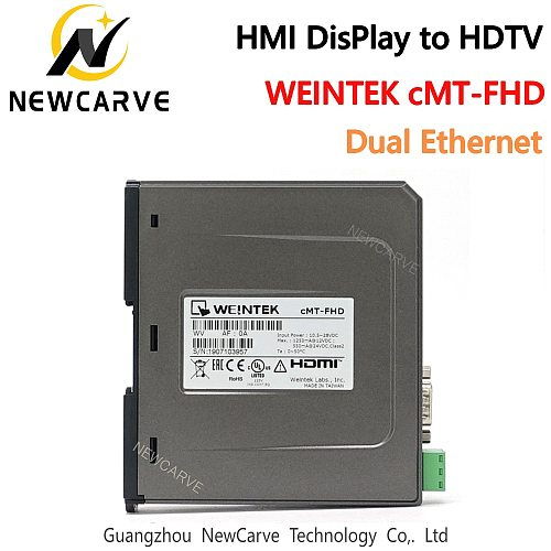 HMI Display To HDTV CMT-FHD Built-in Dual Ethernet Ports Replace WEINVIEW/WEINTEK CMT-HDMI CMT-HD NEWCARVE