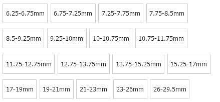 1pcs Black HSS Size Range Adjustable Hand Reamer 6 8 10 12 15 20 25mm
