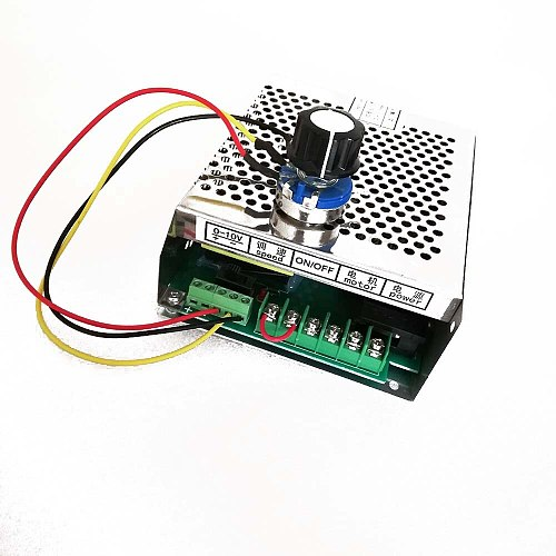 200W 300W 400W 500W Spindle Power Supply Input 220VAC or 110VAC  Output 48VDC Mach3 Spindle Motor Power CNC Adjustable