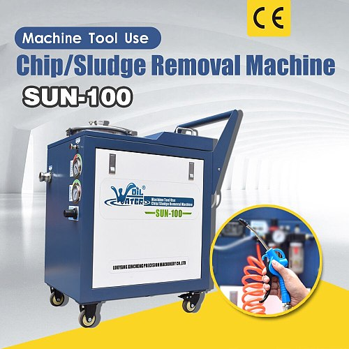 cutting fluid slag removal machine  SUN-100 with  free  shipping