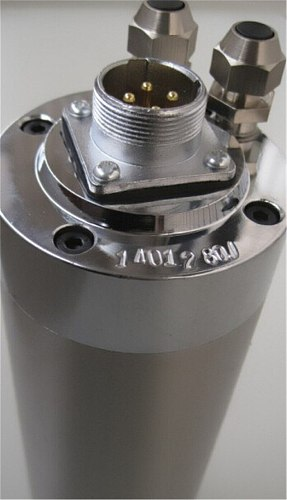 1HP 0.8kw 24000RPM ER11 water cooling Woodworking AC Spindle motor 65mm 4 bearings 220VAC 5A 400hz CNC Router
