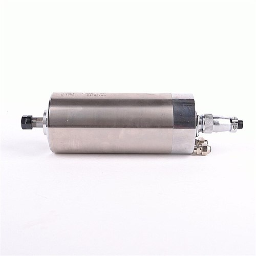 2HP 1.5kw 24000RPM ER11 water cooling Woodworking AC Spindle motor 80mm 3 bearings 220VAC 5A 400hz CNC Router