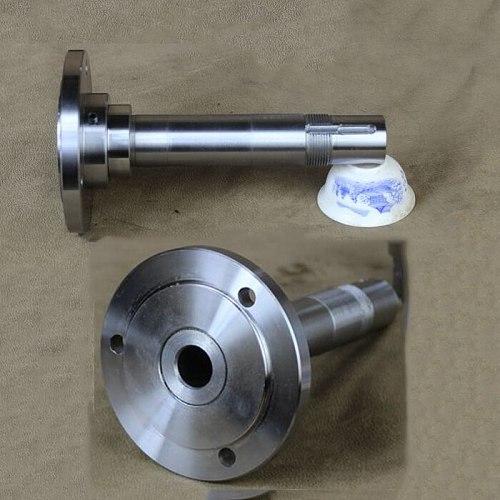 80 100 125  200 Lathe Spindle DIY Chuck Flange Spindle Lathe Spindle Mount