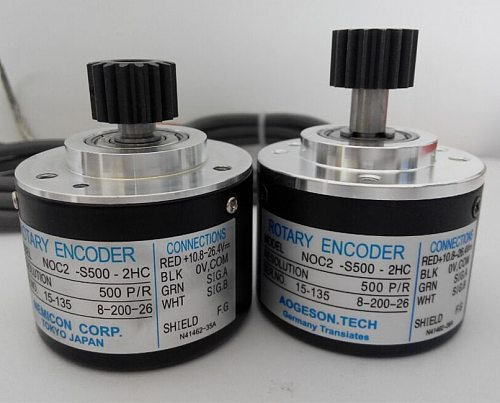 rotary encoder high quality  injection molding machine  noc-s1000-2hc   1000 pulse