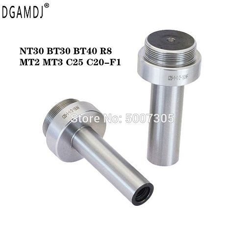 Boring bar shank for F1 boring head holder adapter NT30 BT30 BT40 R8 MT2 MT3 C25 C20 tool holder boring tool for lathe