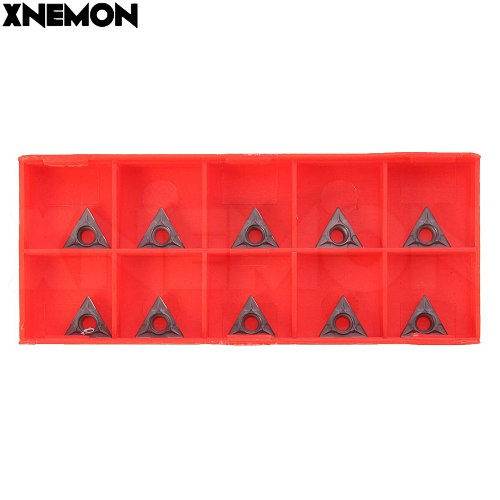 1/10pcs Carbide Inserts TCMT110204/TCMT 731 Inserts For Lathe Turning Boring Tool Holder