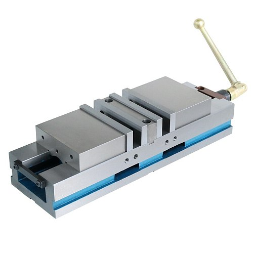 double action Accu lock milling machine tool vice 4 inch width of jaw 100mm cast iron made in china