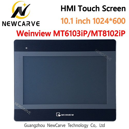 MT6103iP MT8102iP HMI Touch Screen 10.1 inch 1024*600 USB Ethernet Replace MT6100i WEINVIEW/WEINTEK NEWCARVE