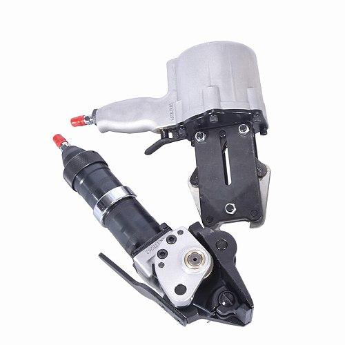 KZS 32 Pneumatic steel Strapping Tools+ KZL-32 Pneumatic Tensioner for strapping steel, Width 32mm, thickness 0.8~1.2mm.