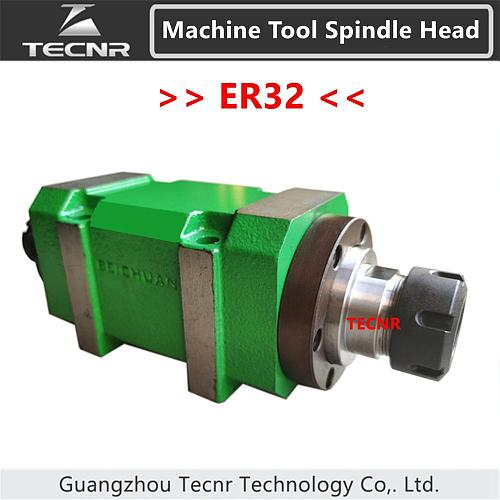 ER32 Power Head Max. 3000~8000rpm Power Unit Machine Tool Spindle Head for boring milling drilling tapping Machine