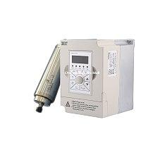 1.5kw water cooled spindle motor ER11 collet D65mm L210mm AC220V & 1.5kw 220v BEST VFD Inverter Variable Frequency Drive