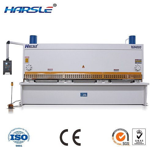 QC11 Guillotine  shearing machine with enmergency controling system