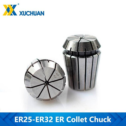 1pc ER25-32 1.0-20mm Spring Collet Chuck For CNC Milling Cutter Router Tool Collet Clamp