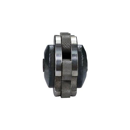 6 Wheel Knurling Cutter Linear Pitch Knurl Lathe Cutter Gear Shaper Cutter Steel Lathe Tool 6 Head Knurl Wheel Lathe Cutter
