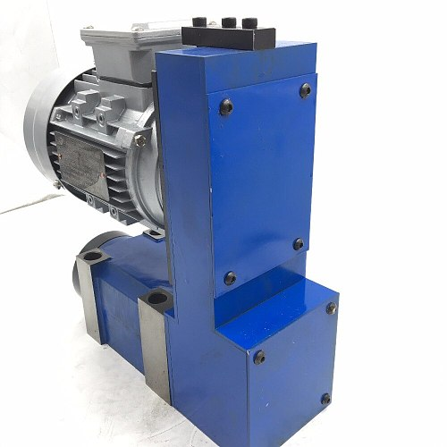 Morse Taper MT3 Power Head Spindle Unit with 370W Induction Motor 8000rpm V-belt Drive for CNC Boring Milling