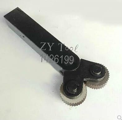 Free Shipping Diagonal 1.5mm Pitch 8mm(ID)*26mm(OD)*8mm(H) Knurling Wheel Knurling Linear Knurl Tool