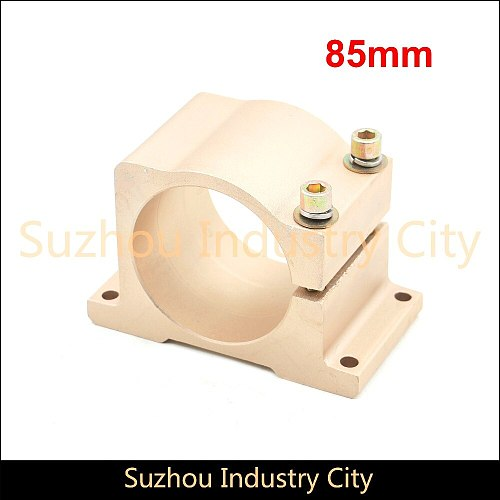 High Quality! 85mm spindle motor fixture CNC Spindle Motor Clamping Bracket 85mm Diameter Square mount Bracket !