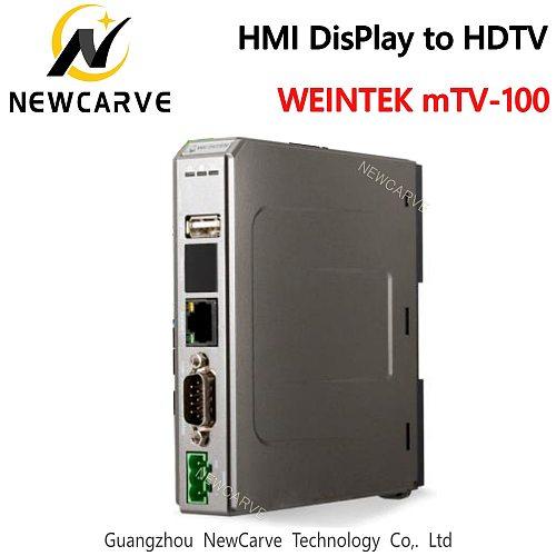 MTV-100 HMI To TV Display Buildings On Ethernet Weinview/Weintek NEWCARVE
